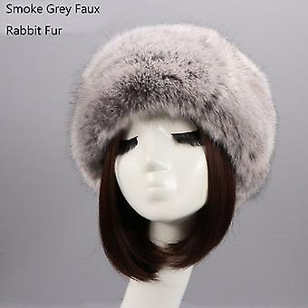 Talvihattu Muoti Faux Fox Fur Headbands