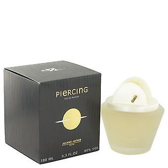 Piercing Eau De Parfum Spray By Jeanne Arthes 3.3 oz Eau De Parfum Spray