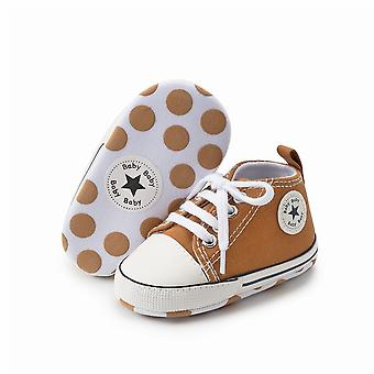 Newborn First Walkers Soft Anti-slip Sole Casual Canvas Shoes