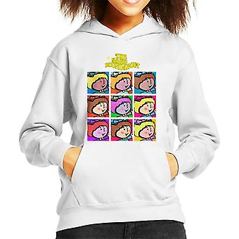 The Magic Roundabout Florence Pop Art Kid's Hooded Sweatshirt