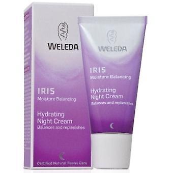 Weleda Creme Hidratante de Noite Iris 30 ml