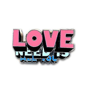 The Beatles All You Need On Love uusi virallinen metallinen pin-merkki