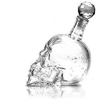 Decanters Crystal Skull Head Shot Glass Wine Decanter Party Transparent