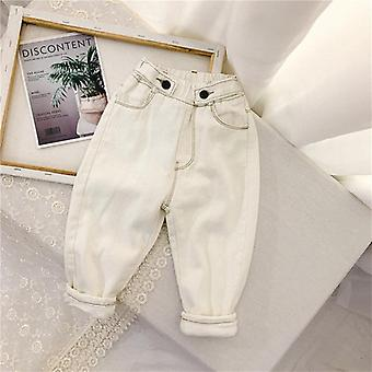 سميكة الصوف الدافئ جينز
