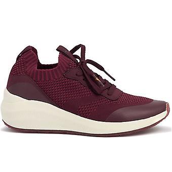 Tamaris Fashletics Bordeaux Sneaker Élastique