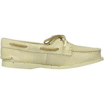 Sperry Women's Bluefish 2-Eye Boat Shoe Light Grey