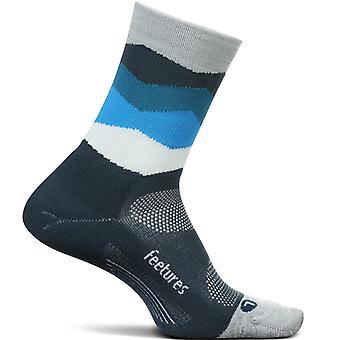 Feetures Elite Light Cushion Mini Crew Unisex Socks