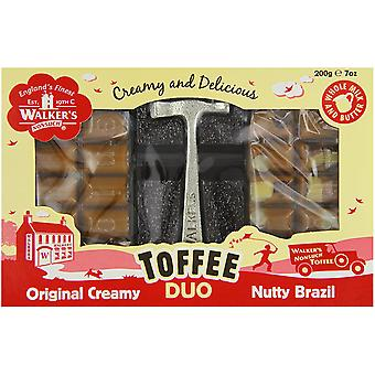 Walkers Nonsuch Brazilia Nuci & Creamy Toffee Duo Hammer Pack 200g