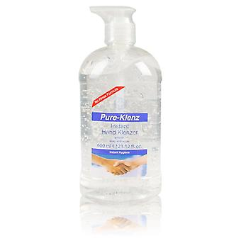 Pure-Klenz Instant Hand Klenzer without soap and water Instant Hygiene Sanitiser 600ml