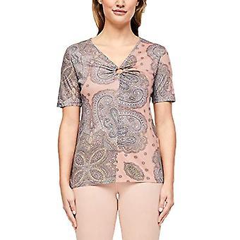 s.Oliver BLACK LABEL T-Shirt Kurzarm, 42a1 Paisley Print, 42 Woman
