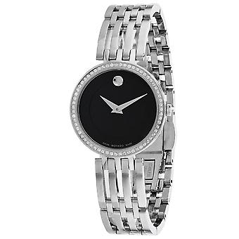 Movado Women's Esperanzaa Black Dial Watch - 607052