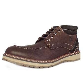 Chatham Albion Men's Casual Lace Up Boots In Brown