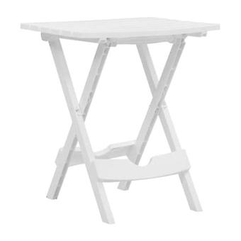 Folding Garden Table White