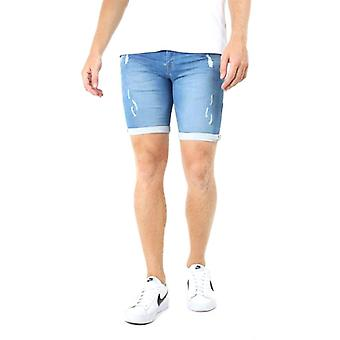 Brave Soul Lincolnian Skinny Shorts