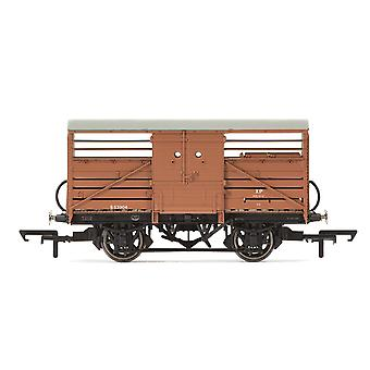Hornby Dia.1529 Karjavaunu British Railways 553904 Era 4 -mallijuna