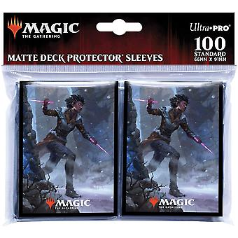 Magic The Gathering: Kaldheim s neúprosnými karetními rukávy Kaya - 100 rukávů