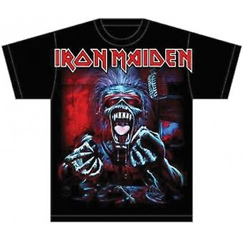 Iron Maiden A Real Dead One Mens T Shirt: Grand