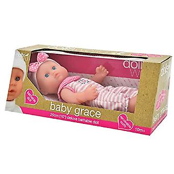 Dolls World Newborn Baby Girl Grace Doll