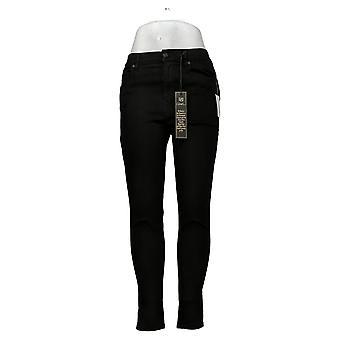 DG2 by Diane Gilman Women's Jeans Boot-Cut Jean Black 714677