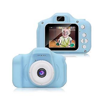 Children's Camera Hd Digital Camera Holiday Birthday Gift(Blue)
