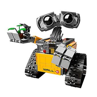 WALL E Robotten High-tech DIY Byggesten Idé valgfag Tal Model Kompatible Pædagogisk Legetøj til børn