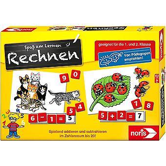 606076341 Spaß am Rechnen, Kinder Lernspiel zum Rechnen lernen, Zahlen, Bildlesekarten und