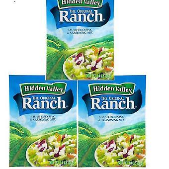 Hidden Valley Ranch Original Salad Dressing Mix 3 Packets