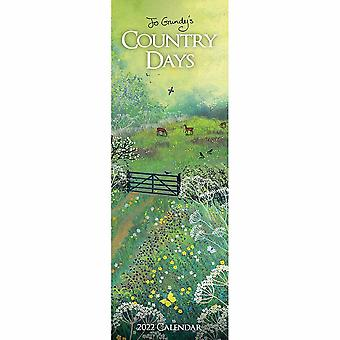 Otter House Country Days Jo Grundy Slim Kalender 2022