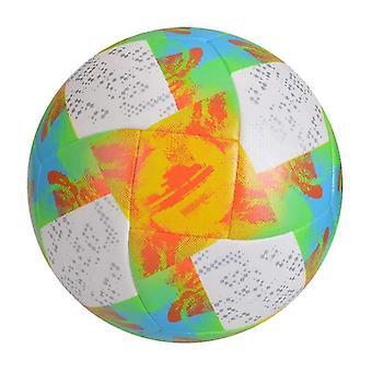 كرة القدم الدمى الزلاجات كرة القدم معيار آلة حجم مخيط بو مباراة الدوري الرياضية المادية