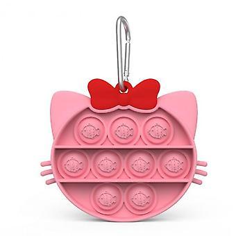 Stress Reliever Silicone Onder ons Push Pop Pop Bubble Sensory Fidget Toy