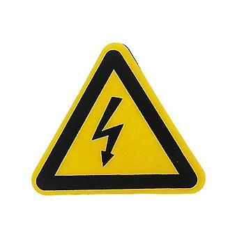 Adhesive Labels Electrical Shock Hazard Danger Notice Safety Pvc Waterproof