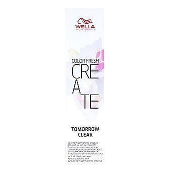 Semi-Permanent Farvetone Color Frisk Opret Tomorrow Clear Wella (60 ml)