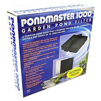 Pondmaster 1000 Garden Pond Filter Only - 700 GPH - Up to 1,000 Gallons