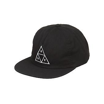 Huf Triple Triangle Snapback Hat - Black
