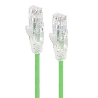 Alogic 1M Green Ultra Slim Cat6 Network Cable Utp 28Awg Series Alpha