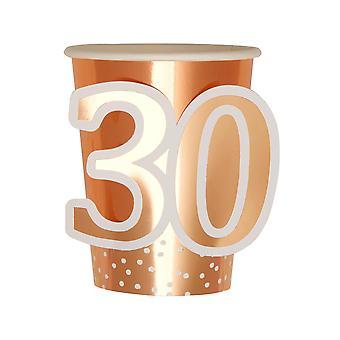 יום הולדת זהב ורוד - גביע - גיל 30