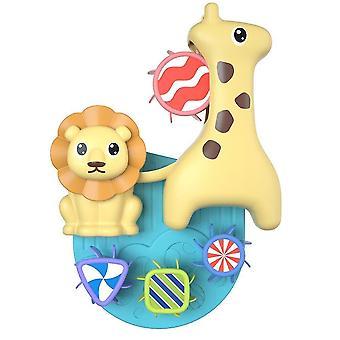 Bath toys baby bath toys water spray toy child sucker cute cartoon deer bathroom bathtub water spray shower