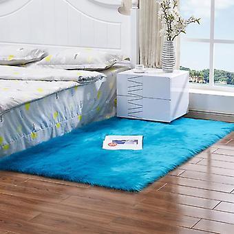 Flauschige Anti-Rutsch-Shaggy Teppiche Teppich Wohnzimmer Schlafzimmer Fußmatte