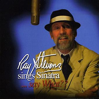 Ray Stevens - Sings Sinatra Say What? [CD] USA import