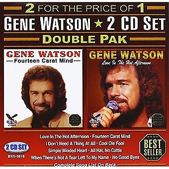 Gene Watson - dubbel Pak [CD] USA import