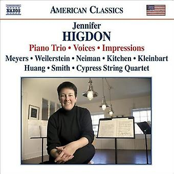 J. Higdon - Jennifer Higdon: Piano Trio; Voices; Impressions [CD] USA import