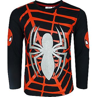 Marvel Spiderman Long Sleeve Top / T-Shirt neues DESIGN