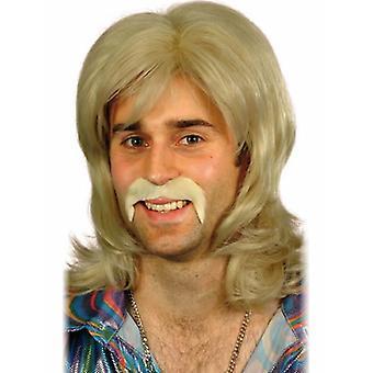 70s περούκα χορεύτρια ρετρό 70s ντίσκο πάρτι περούκα