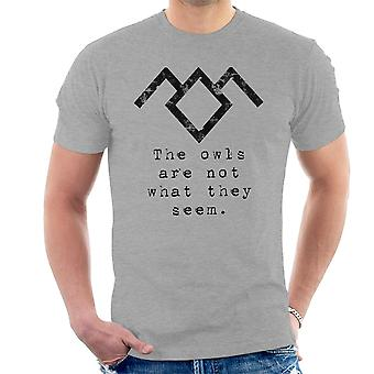 Die Eulen sind nicht was sie scheinen Twin Peaks Herren T-Shirt