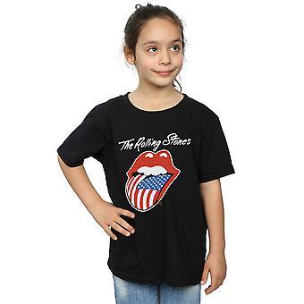 Rolling Stones Girls American Tongue T-Shirt