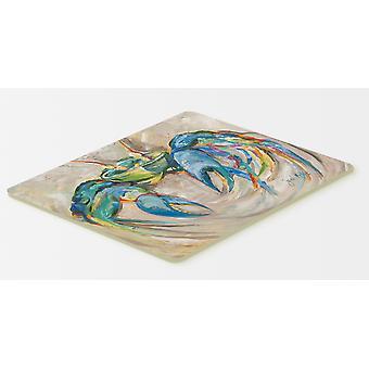 كارولين الكنوز JMK1089CMT السلطعون الأزرق مطبخ أو حمام حصيرة 20 x 30