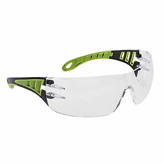 Portwest - Tech Look Lightweight Modern Metal Free Dielectric Safety Spectacles