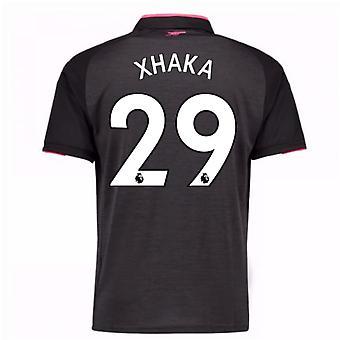 2017-18 arsenal troisième maillot (Xhaka 29)