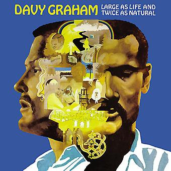 Graham*Davy - Large as Life & Twice as Natural [Vinyl] USA import