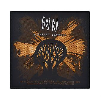 Gojira L'Enfant Sauvage vävda plåster